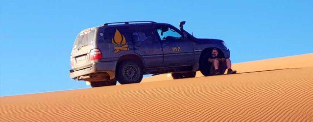 Preparaciones para Marruecos