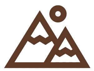 montaña icono